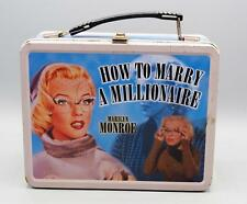 Marilyn Monroe How To Marry A Millionaire Lunch Box with Thermos Neca