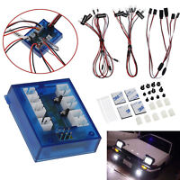 New Highlight 12 LED Lighting No Solder Realistic Kit For 1/10th RC Car Truck US