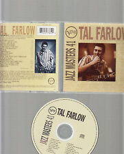 CD -TAL FARLOW-VERVE JAZZ MASTERS-1995-VG+ COLLECTS EARLY NORGRAN SESSIONS