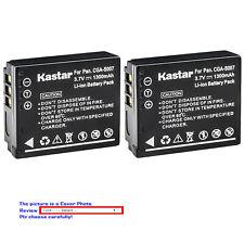 Kastar Replacement Battery for Panasonic CGA-S007 & Panasonic LUMIX DMC-TZ3K