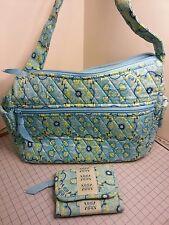 Lemon Hill Quilted Shoulder Purse  Bag & Matching Wallet GUC