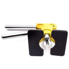 Dent Repair PDR Glue Puller Golden Dent Lifter+10 Blue Tabs Dent Lifter Durable