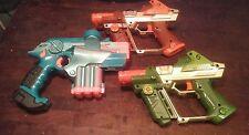 LOT 3 LASER LAZER TAG GUNS PHOENIX LTX TIGER ELECTRONICS green blue orange