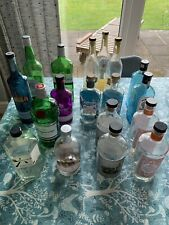 Upcycling/Recycling Gin bottles x 18