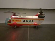 Lego City Vintage 6482 Rescue Helicopter Light And Sound