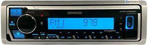 Kenwood Marine Alexa iPhone Bluetooth KMR-M328BT Digital Media AM FM XM USB Aux