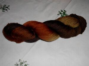 sockenwolle rowan fine art verschiedene brauntöne 100 gr