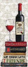 Cross Stitch Kit ~ Design Works Red Wine #DW2982