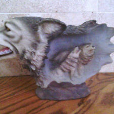 #23 - Wolves with inner wolves figurine
