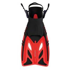Mirage Mission Flipper Snorkel Mask Set Adult-BLUE Size L//XL = 8-11