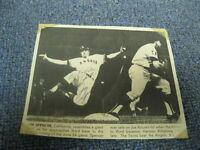 Jim Spencer Autographed Photo Newspaper PSA PRE CERTIFIED