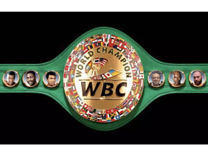 WBC World Boxing Championship Belt Adult Size Replica ( Select Your Boxers)