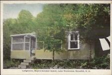 Meredith NH Mayo's Summer Resort Lake Waukewan Ledgemere Postcard
