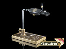 REGAL MEDALLION BRONZE BASE VISE TRADITIONAL JAWS - USA VICE NEW FLY TYING TOOL