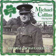 Patrick O 'Donnell generale Michael Collins | CD con 4 canzoni | folk irlandese