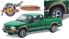 Bushwacker 41502-02 Front & Rear Street Style Fender Flares for Chevy Blazer/S10