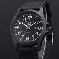 Army Military Date Stainless Steel Sports Analog Quartz Wrist Men Watch
