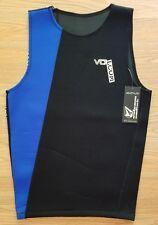 VOLCOM Neoprene Vest Men's Size Medium Black/Blue Surf Vest Watersports NWT