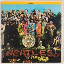 BEATLES: Sgt. Peppers Lonely Hearts Club Band CAPITOL Lime Target '69 Rare LP