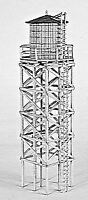CAMPBELL SCALE MODELS HO SCALE WOODEN WATER TOWER | BN | 453