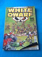 White Dwarf - Numero 96 en Castellano - LB485