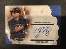KYLE SEAGER 2015 Topps Supreme Simply Supreme Autograph # SSA-KS Mariners Auto