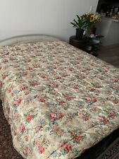Ralph Lauren Brittany Comforter Full Queen Roses Floral Euc! Made in Usa