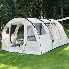 skandika Gotland 4 pers. Tente Camping Familiale 480x310 cm  Sable Tunnel NEUVE
