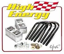 """HIGH ENERGY 1.5"""" (38MM) LOWERING BLOCKS HOLDEN HD HR HK HT HG HELB15-1"""