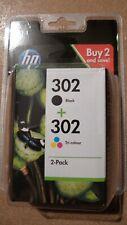 Cartouche HP 302 Black + Tri-colour Neuve ! Date Limite JAN 2023