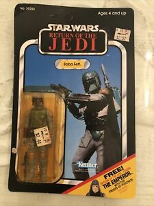 Vintage Star Wars ROTJ Boba Fett Figure 1983 MOC