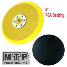 "5"" PSA  Sanding Pad 5""X 5/16"" 24 TPI Thread DA Sander Grinder Polishing"