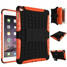Hybrid Outdoor Skin Case Cover Orange for iPad Mini 4 7.9 Inch Case New