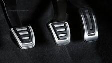 Original Audi Q3 8U Pedalkappen Edelstahl für Fahrzeuge mit Handschaltgetriebe