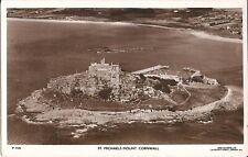 Cornwall, UNITED KINGDOM - St. Michael's Mount - REAL PHOTO