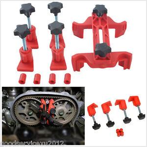 5 X DIY Automobile Dual Cam Clamp Camshaft Engine Timing Locking Tool Universal