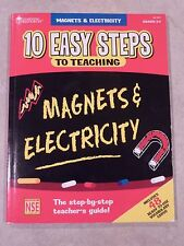 10 Ten Easy Steps to Teaching Magnets and Electricity Grades 3-5 (Homeschool)
