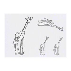 'Giraffe' Temporary Tattoos (TO019685)