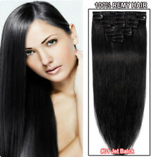 8PCS 100% Natural Clip in Real Human Remy Hair Extensions Full Head Blonde USPS