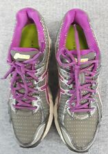 Asics GT 2170 Womens 9.5 Gray Purple Mesh Running Cross Training Shoes Sneakers