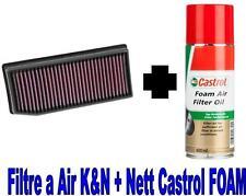 Filtre a Air Sport K&N KN 33-3007+Huile Castrol DACIA DUSTER 1.5 dCi 107CH
