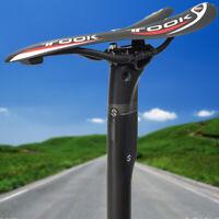 TOSEEK Bicycle Carbon Seatpost 27.2/30.8/31.6mm MTB Road Bike Saddle Seatposts