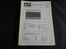 ORIGINALI service manual Graetz page netzautomatic 303