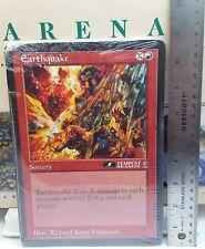 Earthquake & 5 Other Factory Sealed Arena Promotional Jumbo Oversized Card Set