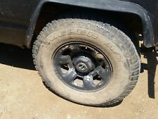 NISSAN PATROL GU 16'' STEEL WHEELS AND TYRES SET OF 4