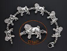 Bracelet Chien CARLIN - Bracelet with PUG DOG