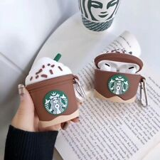 3D Ice Cream Drink Cup Bag AirPods Pro Charge Case Cover For Airpod 1 2 3