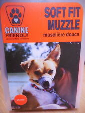 """New listing Canine Friendly """"Soft Fit Muzzle� Xs, 4 ¼� *Ships Free*"""