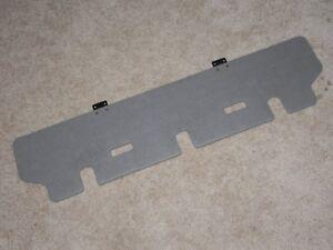 2001-2006 Hyundai Santa Fe Jack Storage Cover Rear Luggage Floor Cover Gray