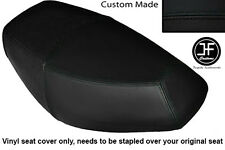 BLACK AUTOMOTIVE VINYL CUSTOM FITS PULSE SCOUT 50 BOATIAN DUAL SEAT COVER ONLY